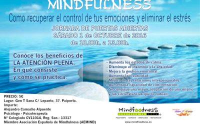 """7ª JORNADA DE PUERTAS ABIERTAS: """"MINDFULNESS PARA TOD@S"""""""