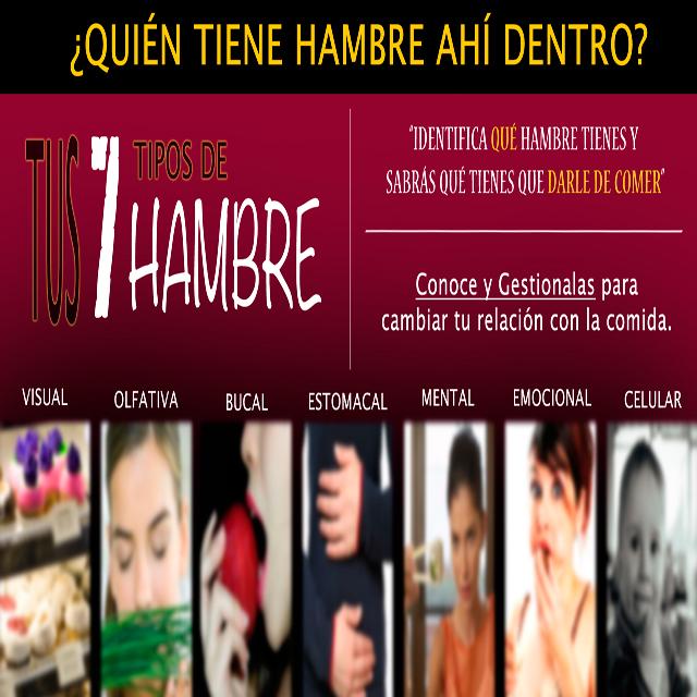 """TALLER """"TUS SIETE TIPOS DE HAMBRE"""". ED. GRANADA"""