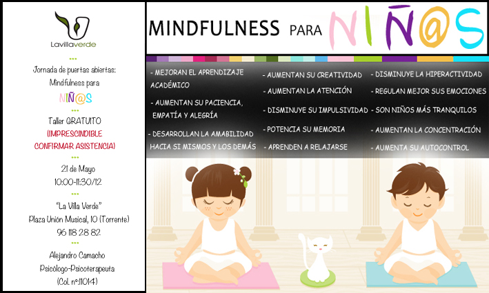 «MINDFULNESS PARA NIÑ@S» (GRATUITO)
