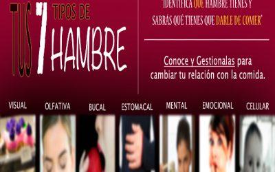 TALLER «TUS SIETE TIPOS DE HAMBRE». ED. GRANADA